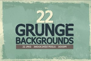 22 Grunge Backgrounds