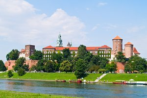 royal castle at Wawel, Krakow