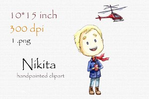 Digital clipart, Nikita