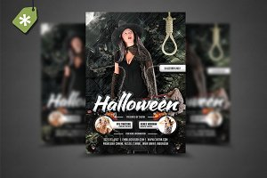 Halloween Flyer Template 6