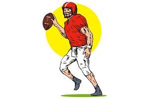 Football Player Pass