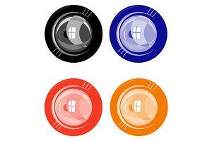Lens Button