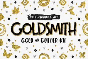 Goldsmith Gold & Glitter PS Kit
