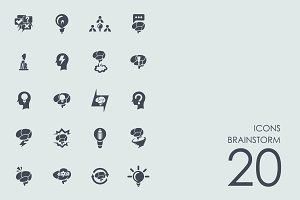 Brainstorm icons