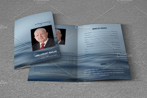 Funeral Program Template-T593