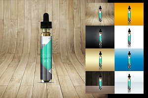 Liquid Bottles Vape smoking Dropper