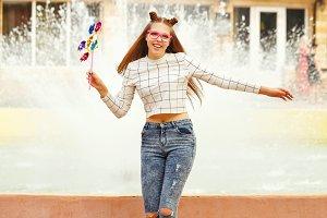 Girl Teen Spinner Array Tool