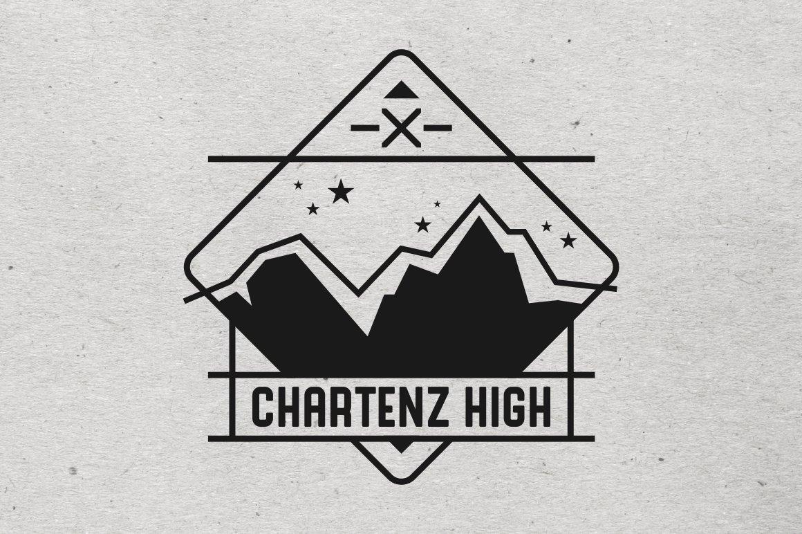 Mountain Logo Template ~ Logo Templates ~ Creative Market