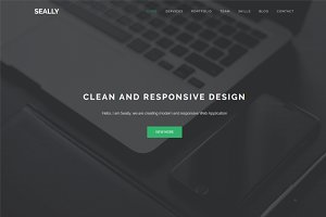 Seally - One Page Multipurpose Theme