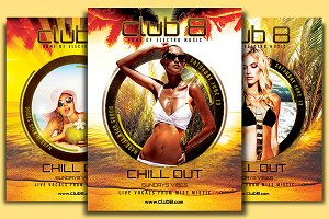 Chill Out Sundays Flyer Template