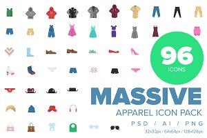 Clothes & Apparel Icon Collection