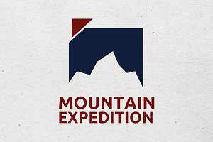 Modern Mountain Logo
