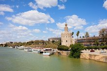 Seville From Guadalquivir River