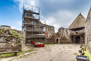 Ruin castle of Visegrad