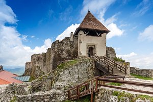 Medieval castle in Visegrad