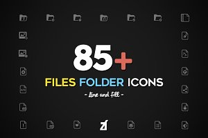 Files and Folders icons pack