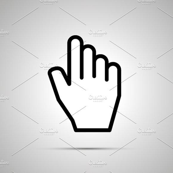 Computer Hand Icon
