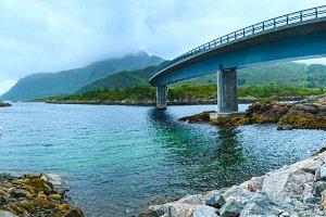 Norwegian Sea landscape