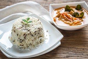 Thai panang curry