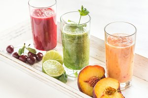 Fruit and vegetable smoothies