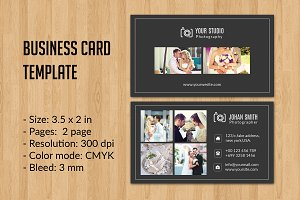 Photographer Business Card -V08
