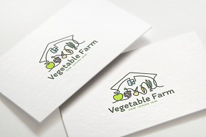 Animated Logo / Vegetable Farm