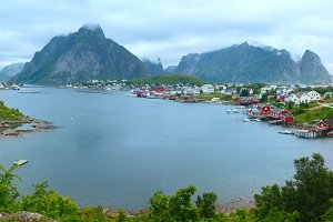 Fishing village Reine, Lofoten