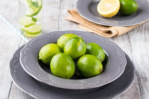 Limes for detox water