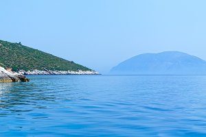 Kefalonia coast view (Greece)