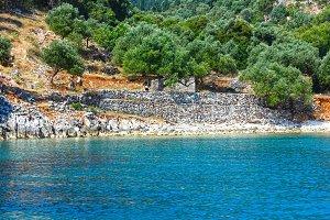 Kefalonia coast view (Greece)