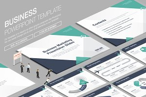 Business Powerpoint Template vol.11