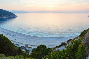 Myrtos Beach (Greece, Kefalonia)