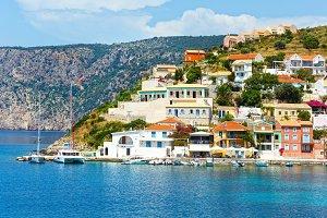 Assos village (Greece, Kefalonia).