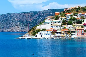 Assos village (Greece, Kefalonia).
