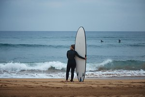 Surfing in north europe