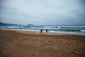 Surfing in north europe