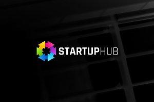Startup hub Logo Template (1)