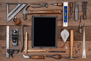 Tools and Tablet Computer