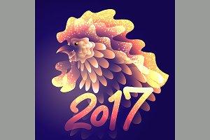2017, background