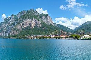 Lake Como summer scenery (Italy)