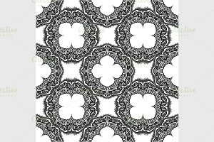 Seamless indian pattern.