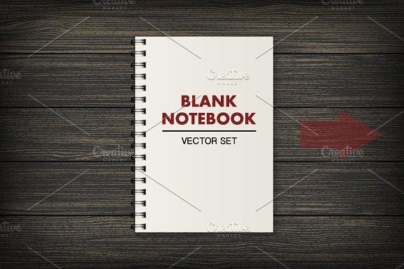 Notebook. Vector set - Illustrations