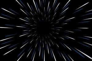 Warp stars galaxy