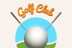 Golf club emblem