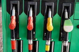 gas petrol station machine