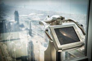 tourist digital binoculars