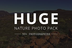 Huge Nature images pack. 50+ images!