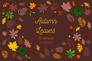 Autumn Leaves: elements and patterns
