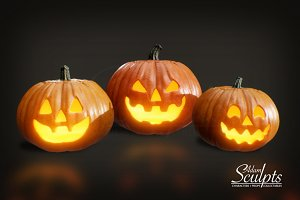 Jack O' Lanterns Selection 01