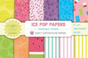 Ice Pop Paper Pack